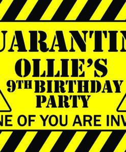 Quarantine Event Celebration